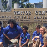 4-H attendees gather at Cabrillo National Monument