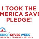 America Saves Week Logo