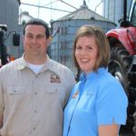 Picture of Jay Yeargin, UT Extension Tennessee Farmer of the Year, and his wife, Alice Ann
