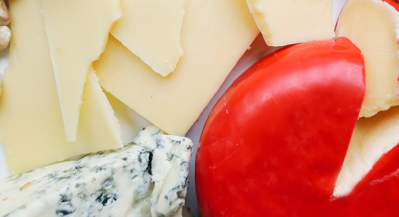 Image of specialty cheeses