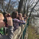 Davidson County, TN, youth birdwatching