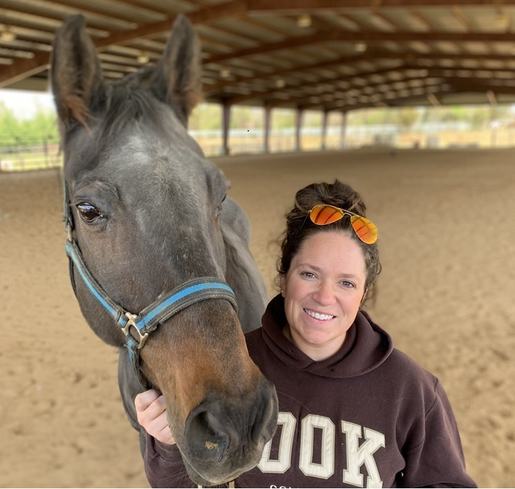 Jennie Ivey and her horse Good Bros. Legend