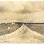 Landscape picture of AgResearch center from 1945