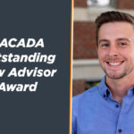 Jeremy Mobley NACADA Outstanding New Advisor